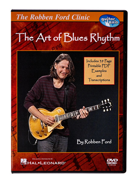 Hal Leonard The Art Of Blues Rhythm (DVD)
