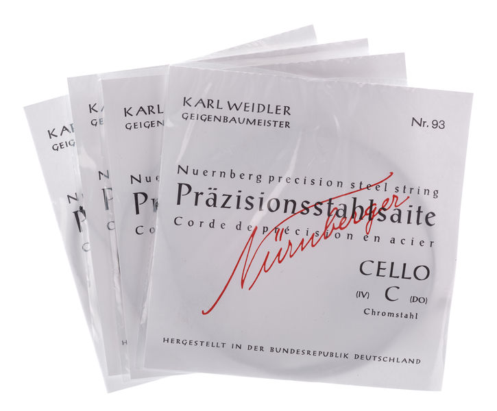 WEIDLER Nürnberger Precision 4/4 Cello