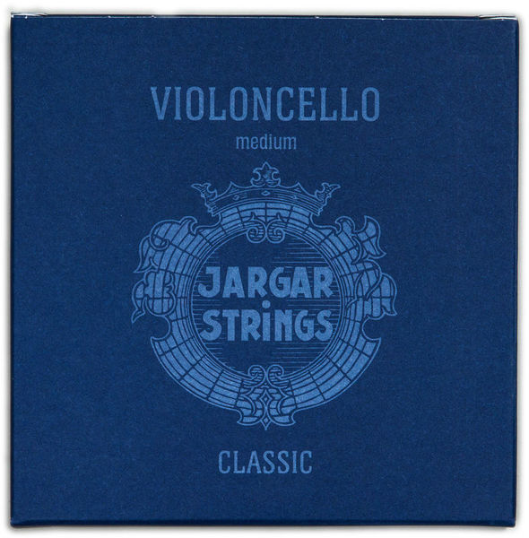 Jargar Cello Strings Chrome Steel Med