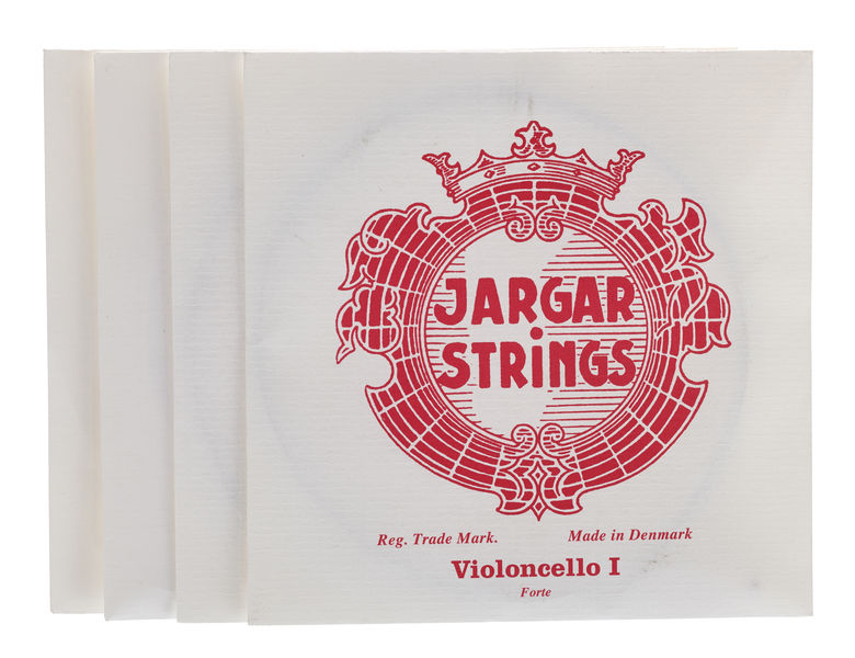 Jargar Cello Strings Silver Forte