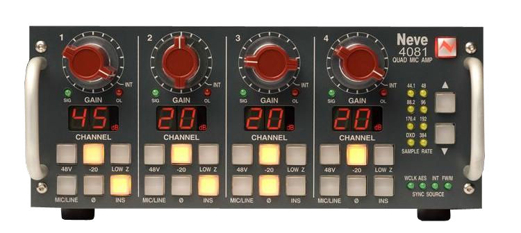 AMS Neve 4081 QuadMic Preamp