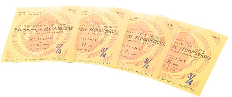 Weidler Nürnberger Künstler Violin 3/4