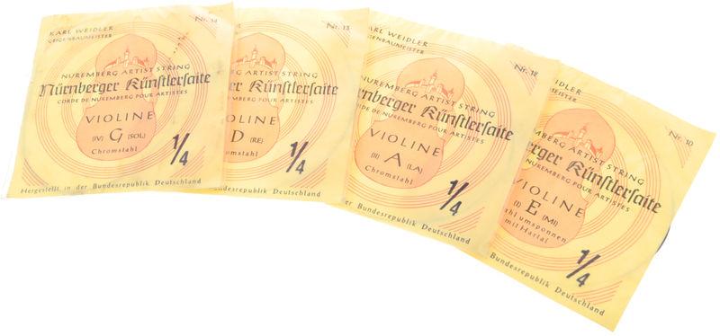 Weidler Nürnberger Künstler Violin1/4H