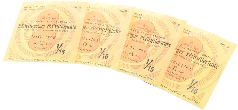 Weidler Nürnberger Künstler Violi1/16H