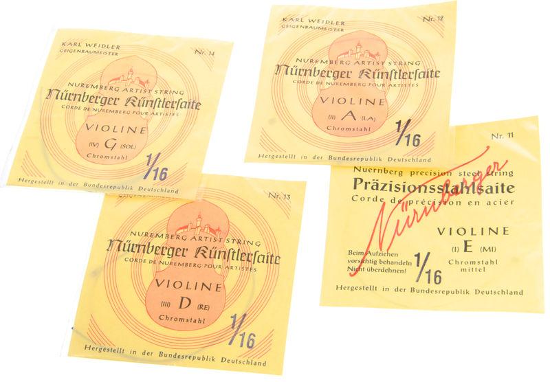 Weidler Nürnberger Künstler Violin1/16