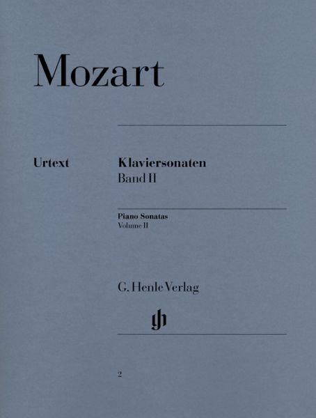 Henle Verlag Mozart Piano Sonatas Vol.2