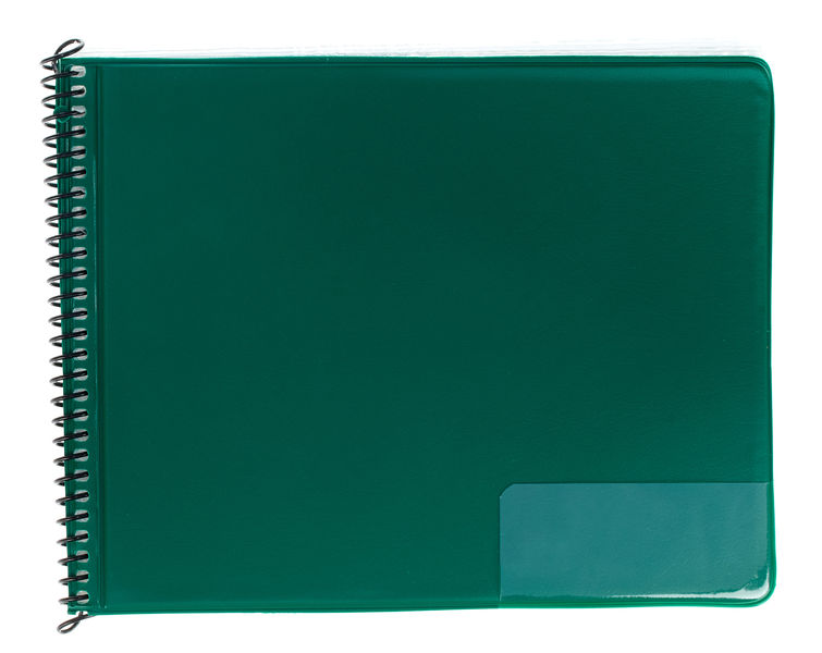 Star Marching Folder 246/25 Green