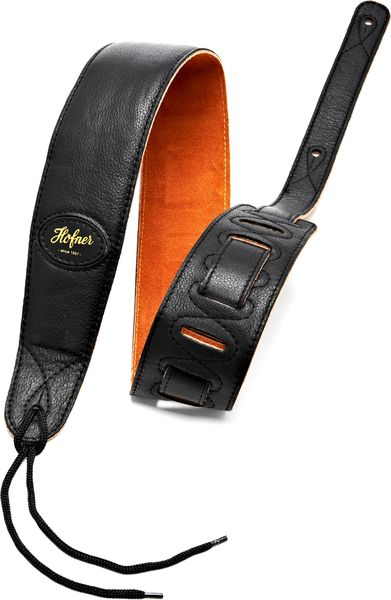 Höfner H65/72BK Leather Strap