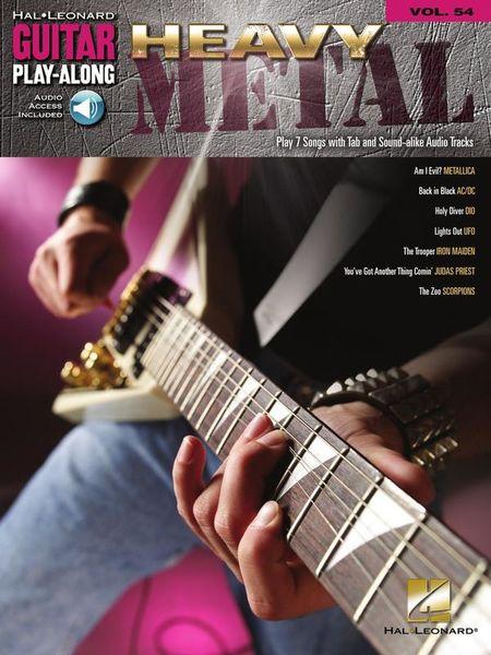 Hal Leonard Heavy Metal Guitar Play-Along