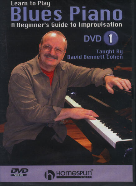 Homespun Learn to Play Blues Piano 1