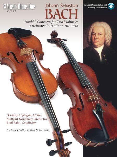 Hal Leonard Bach Concerto BWV1043 Violin