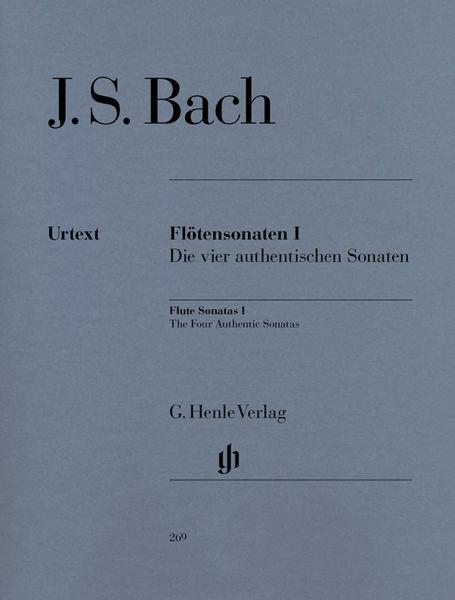 Henle Verlag Bach Flötensonaten 1