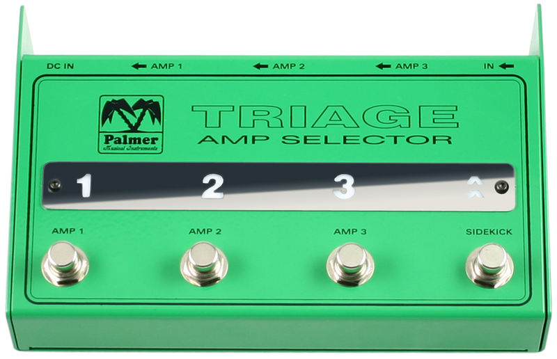 Palmer Triage Amp Selector
