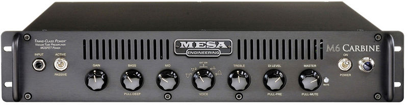 Mesa Boogie M6 Carbine Head 19""