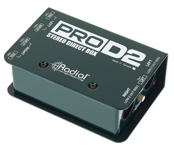 Pro D2 Radial Engineering