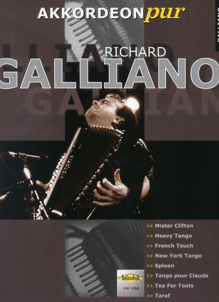 Holzschuh Verlag Akkordeon Pur Richard Galliano