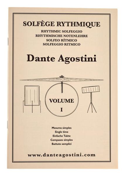 Dante Agostini Solfege Rhythmique Vol.1
