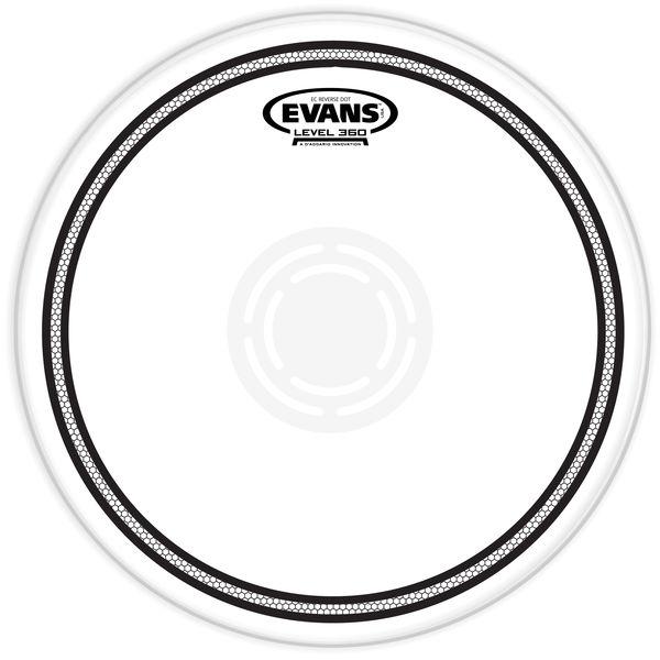 "Evans 12"" EC Edge Control Snare RD"