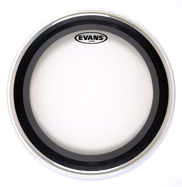 """Evans 24"""" EMAD2 Clear Bass Drum"""
