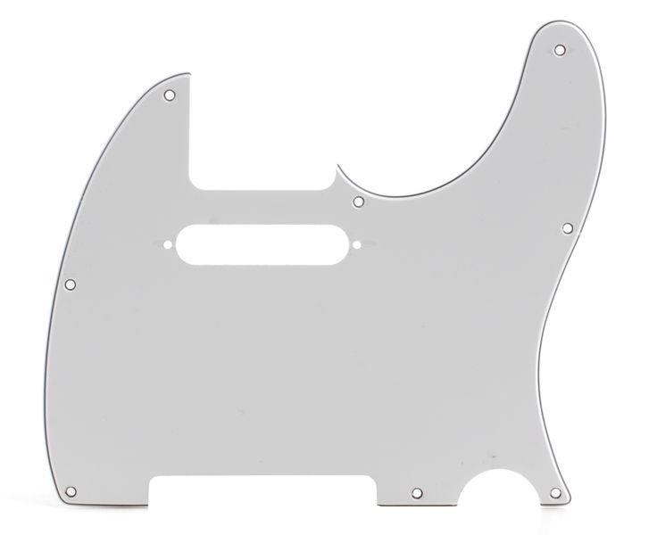 Fender Pickguard Tele WH 3-ply