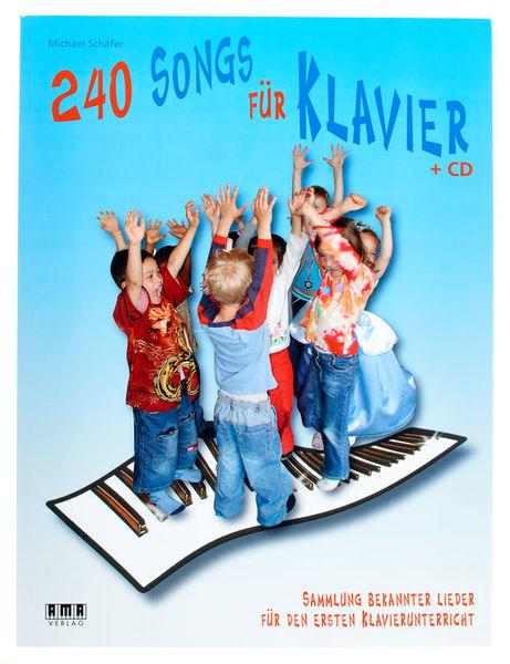 AMA Verlag 240 Songs Für Klavier
