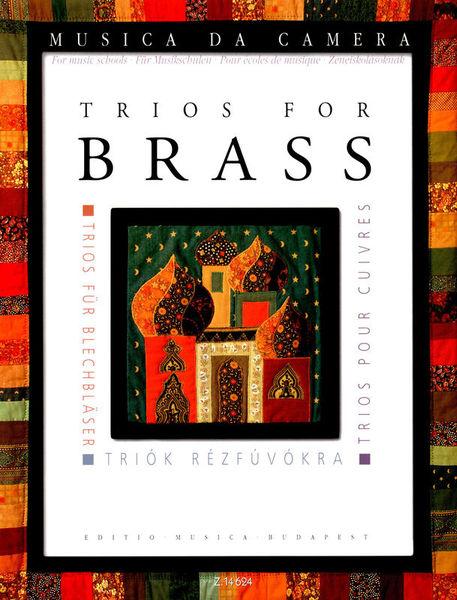 Edition Musica Budapest Trios for Brass