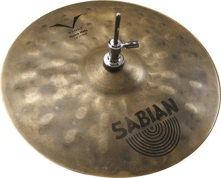 """Sabian 13"""" HHX Fierce Hi-Hat"""
