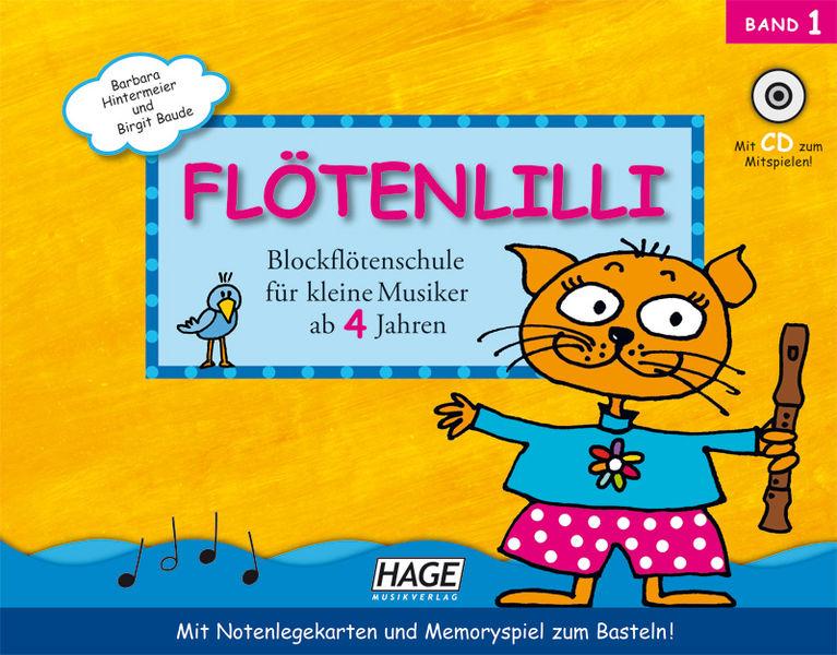 Flötenlilli Recorder Vol.1 Hage Musikverlag