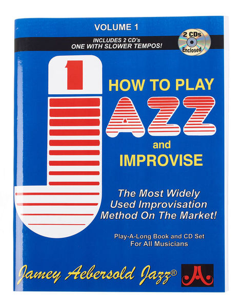 Play Jazz Improvise Vol.1 E Jamey Aebersold