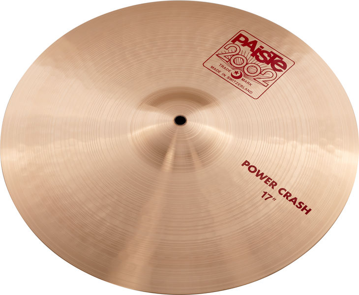 "Paiste 2002 Classic 17"" Power Crash"