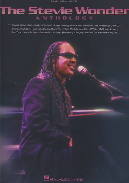 Hal Leonard Stevie Wonder Anthology