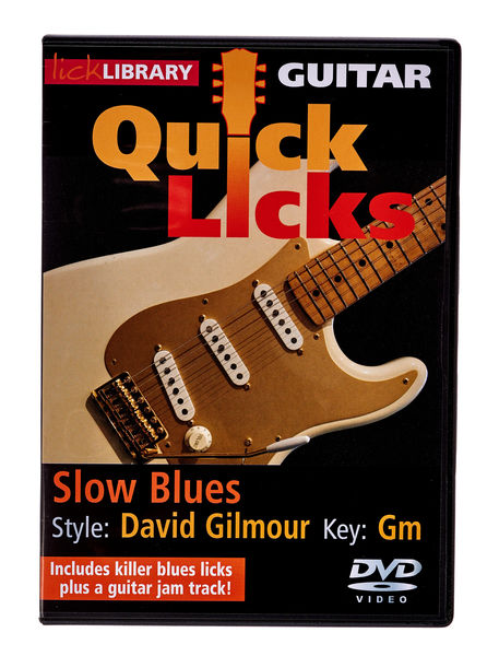 Music Sales Quick Licks David Gilmour(DVD)