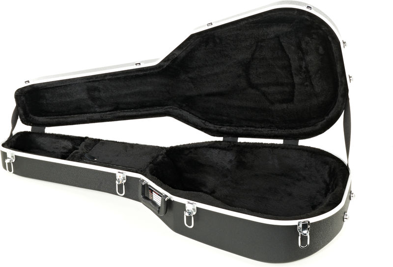 Gator GC-Deep Bowl Guitar ABS Case