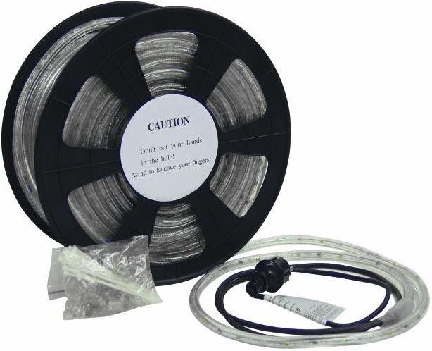 Eurolite Rubberlight LED Clear 6400K44m