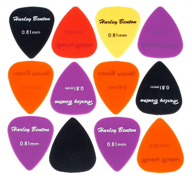 Harley Benton Nylon Player Pick Set 0,81mm
