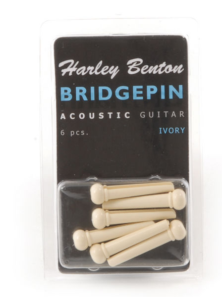 Harley Benton Bridge Pin Set Ivr Dot