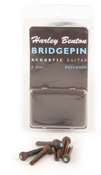 Harley Benton Bridge Pin Set Rosewood Dot