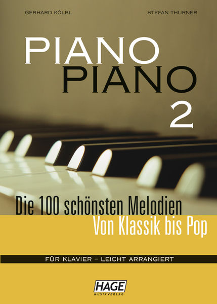 Hage Musikverlag Piano Piano Vol.2 Easy