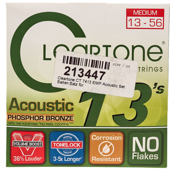 Cleartone CT 7413 EMP Acoustic Set
