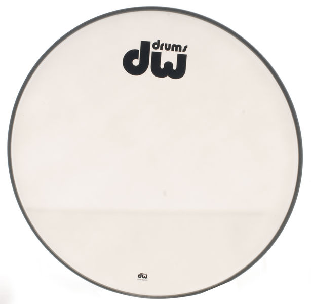 "DW 22"" Bass Drum Resonant Head W"