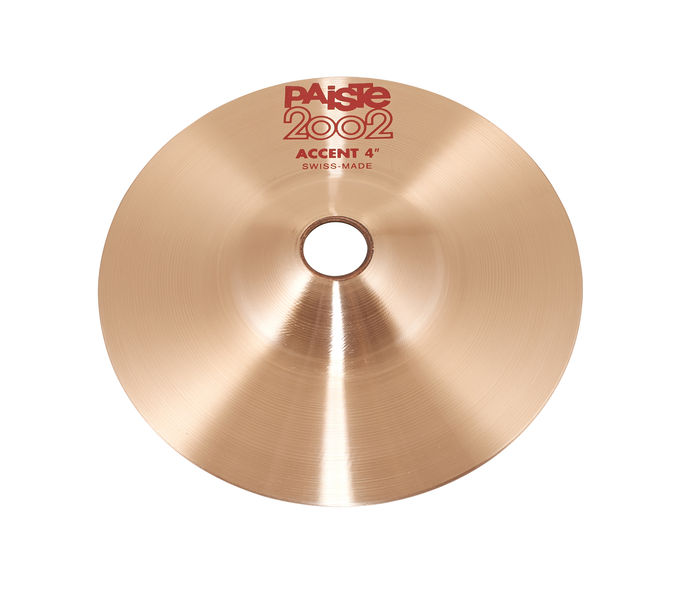 "Paiste 2002 04"" Accent Cymbal"