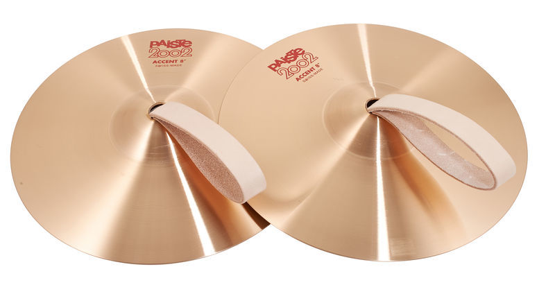 "Paiste 2002 08"" Accent Cymbal Pair"