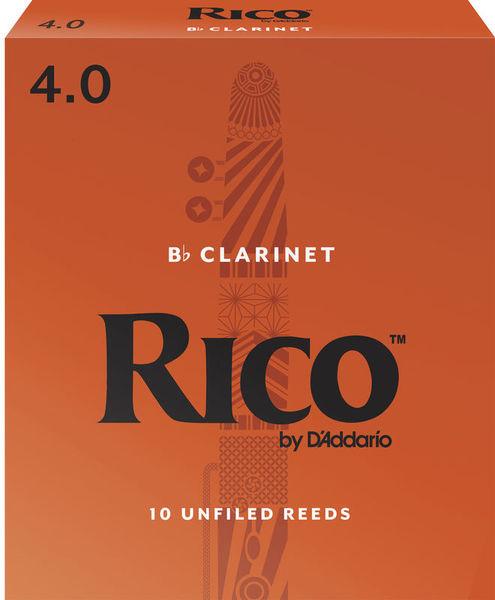 DAddario Woodwinds Rico Bb- Clarinet 4 Boehm