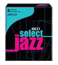 D'Addario Woodwinds 4M Select Jazz Unfiled Soprano