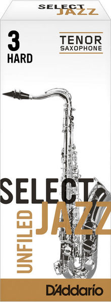 D'Addario Woodwinds 3H Select Jazz Unfiled Tenor