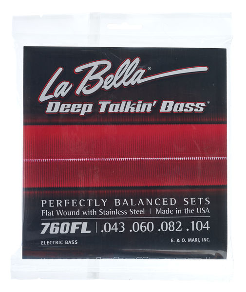 La Bella 760FL Flatwound
