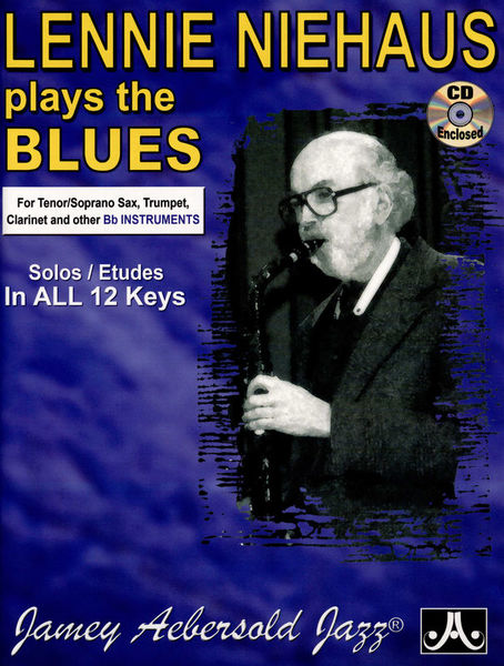 Jamey Aebersold Niehaus Plays The Blues Bb