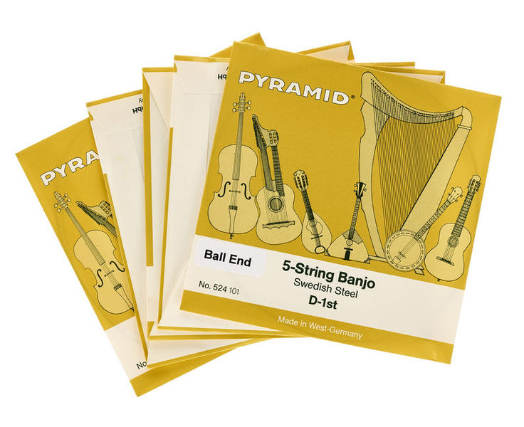Pyramid Banjo 5 Ball End