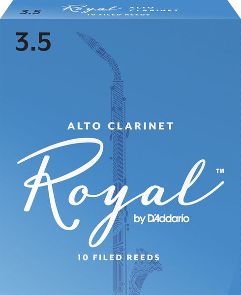 Daddario Woodwinds Royal Boehm Alto Clarinet 3,5