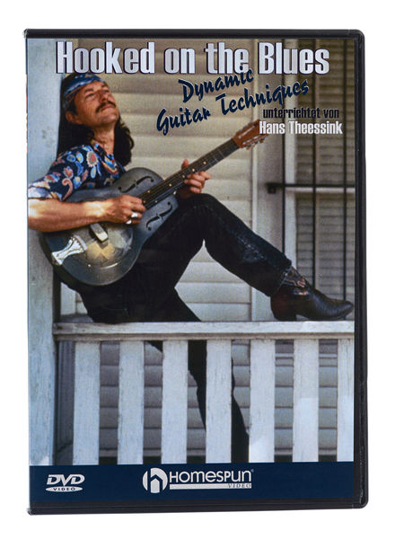 Homespun Hooked On The Blues (DVD)